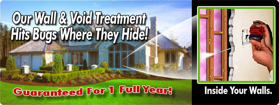 wall and void pest control treatment